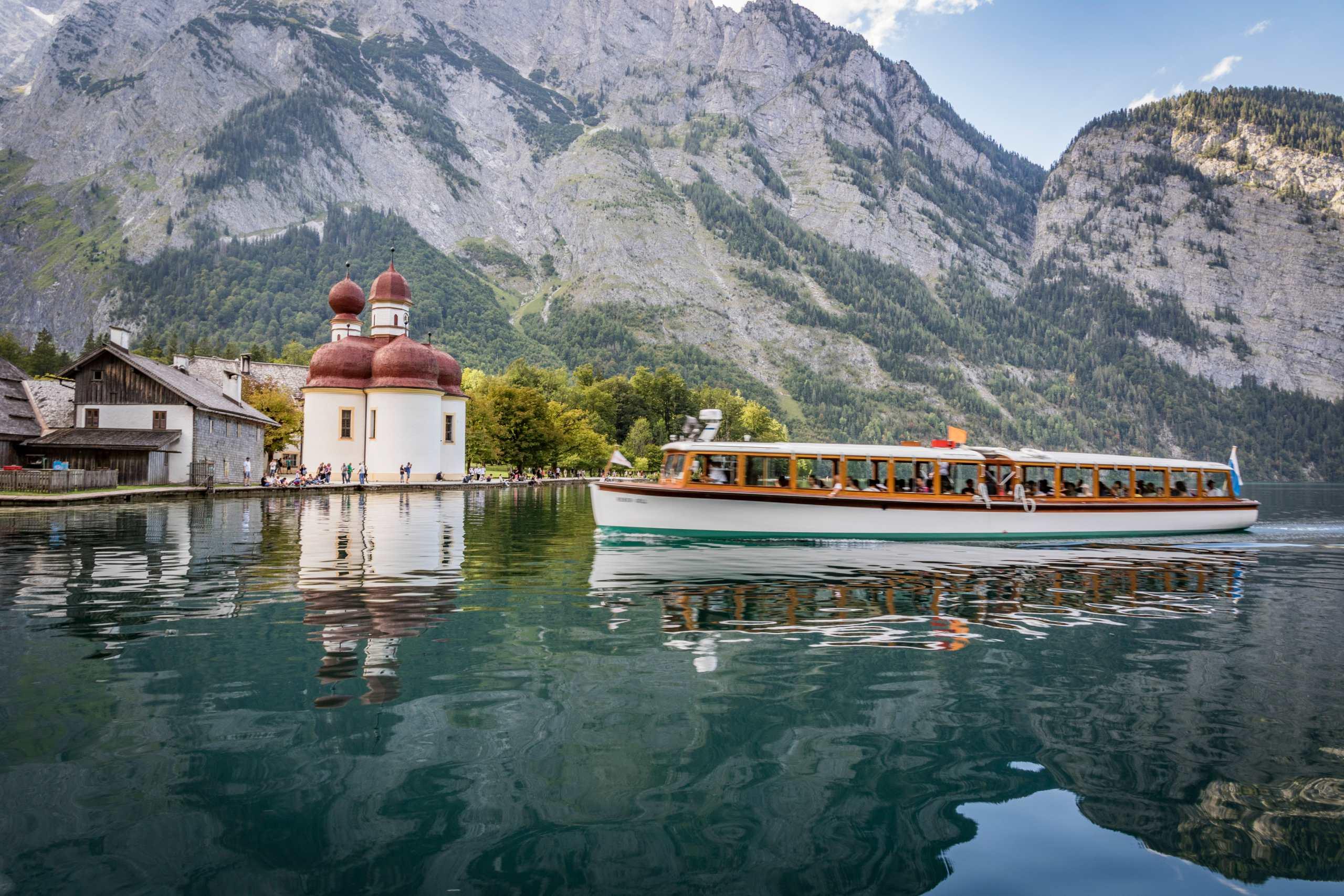 Boot am Königssee © Berchtesgadener Land Tourismus