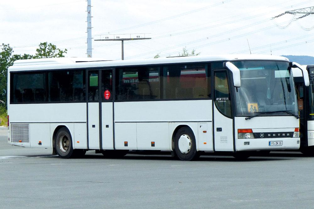 Reisebusse Forchheim, Flotte, Omnibus Kraus, DK-30