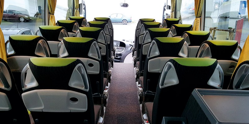 Reisebus Innen