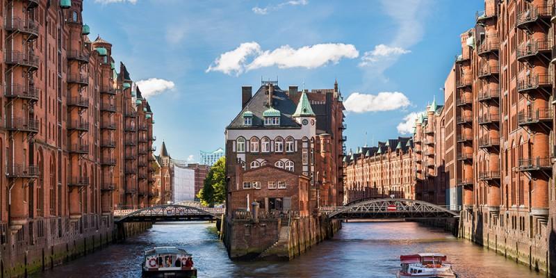 Hamburg - Wasserschloss