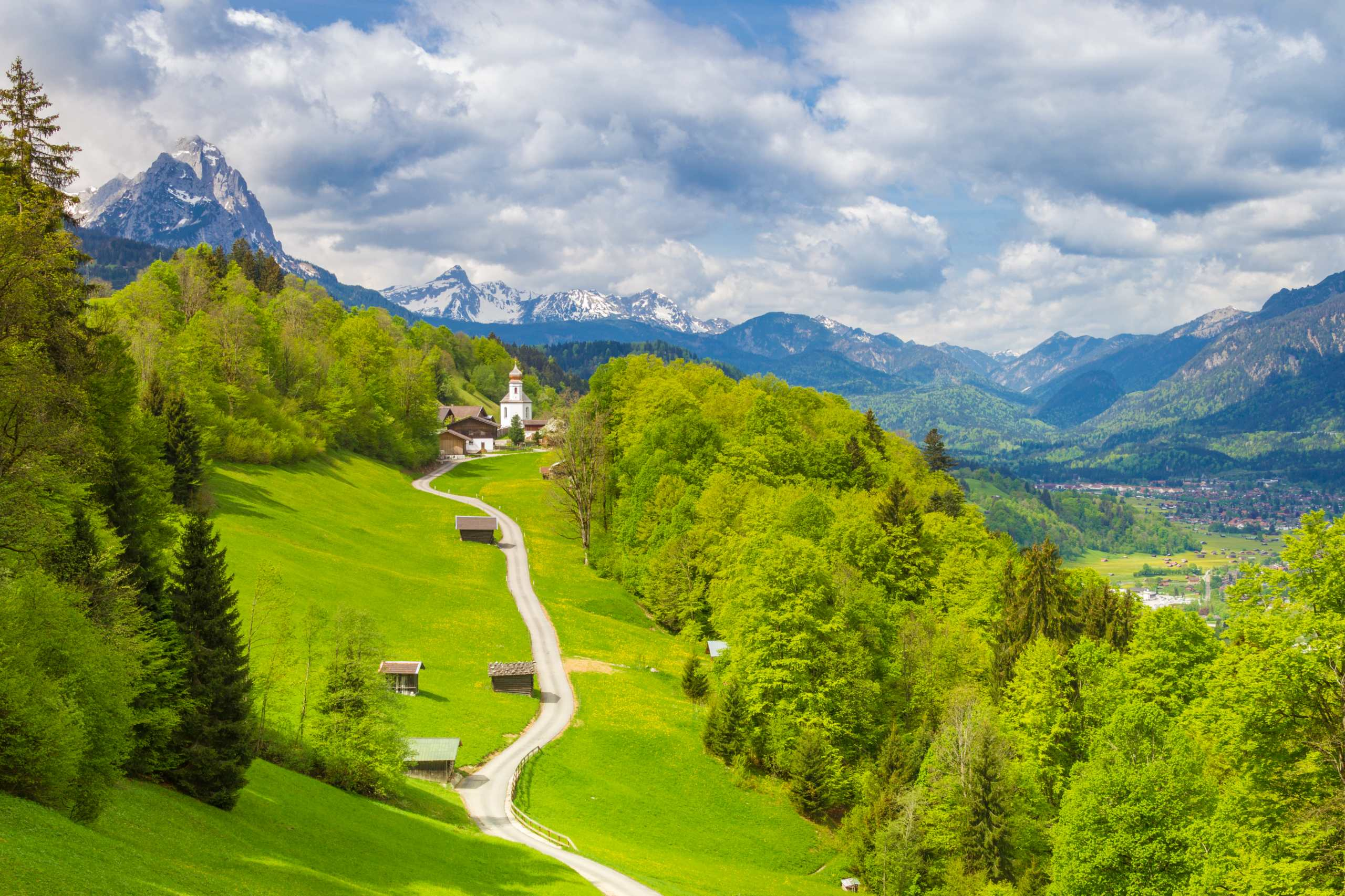 Kirchdorf Wamberg-®GaPa Tourismus_Marc Hohenleitner