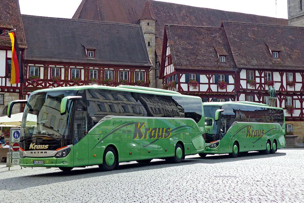 Reisebusse Forchheim, Flotte, Omnibus Kraus, Reisebusse-DK-515-und-FK-516