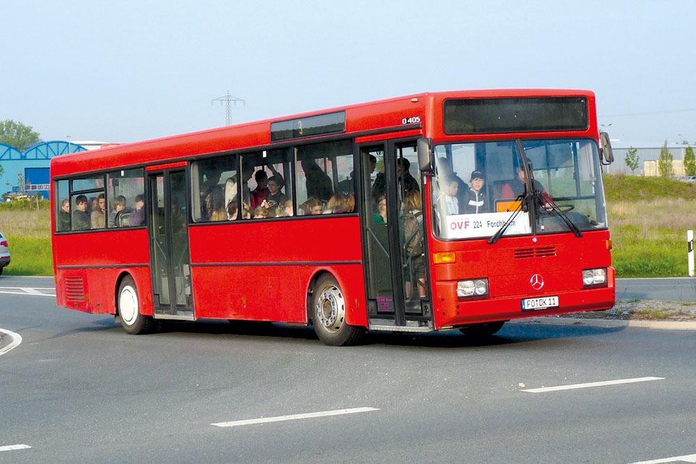 Reisebusse Forchheim, Flotte, Omnibus Kraus, dk11