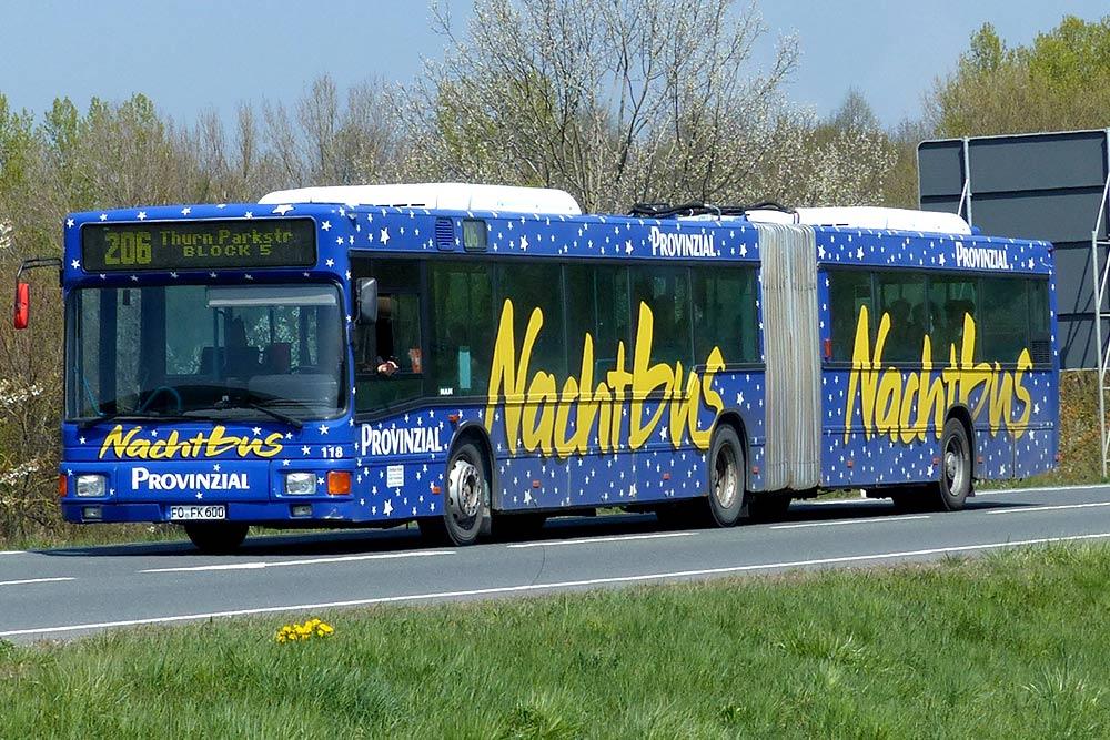 Reisebusse Forchheim, Flotte, Omnibus Kraus, fk600