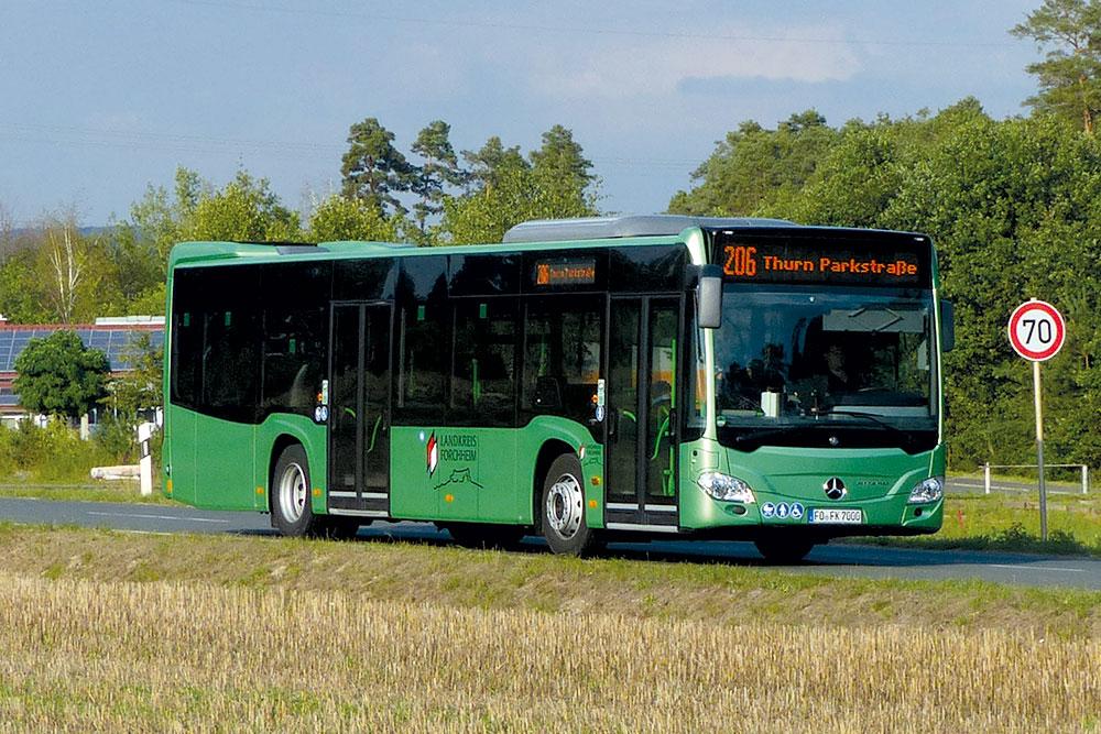 Reisebusse Forchheim, Flotte, Omnibus Kraus, fk7000