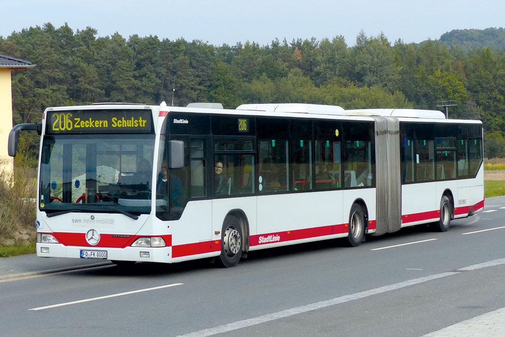 Reisebusse Forchheim, Flotte, Omnibus Kraus, fk8000