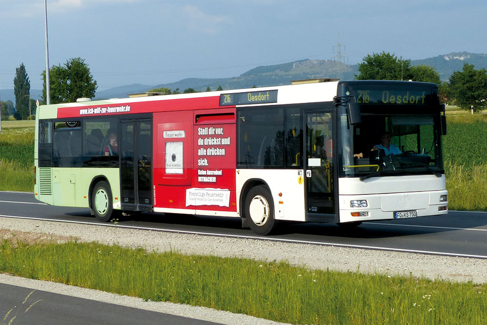 Reisebusse Forchheim, Flotte, Omnibus Kraus, ks750