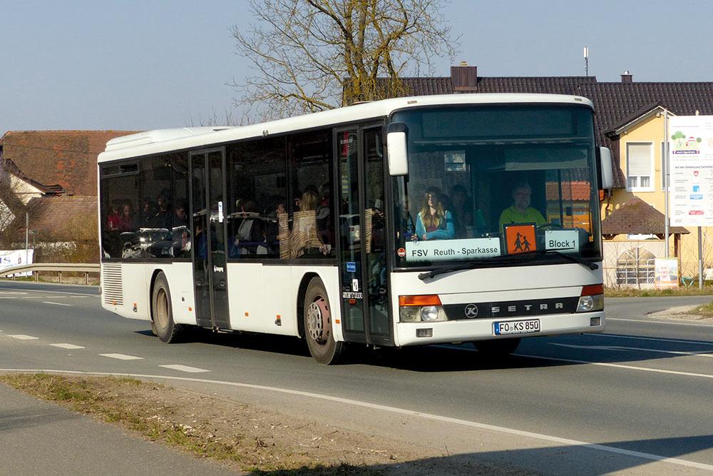 Reisebusse Forchheim, Flotte, Omnibus Kraus, ks850
